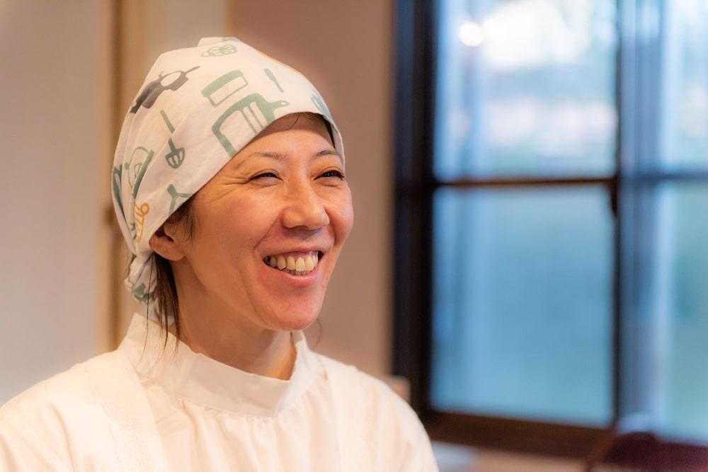 旬菜みそ茶屋くらを 女将 鈴木百合子さん