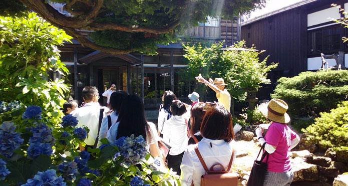 増田の町なみを観光ガイドの写真