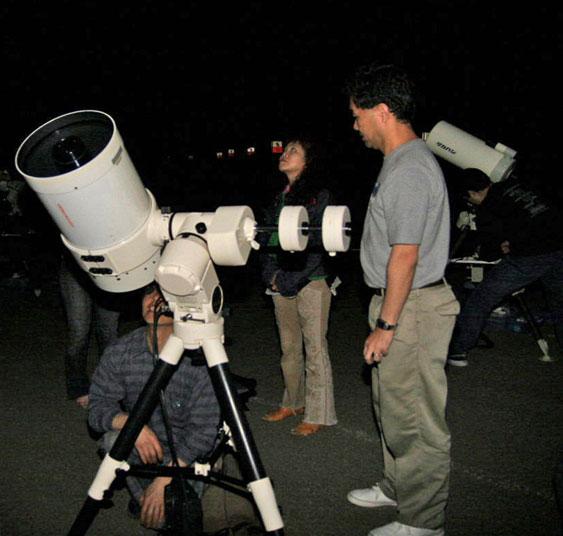 星空案内の写真