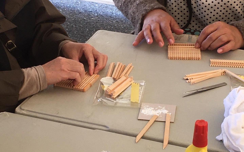 小松木工組子体験